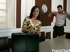 Ex hubby punishes this bitch kristina rose in the pussy