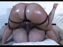 Red head babe strap on fucking bbw milf ass