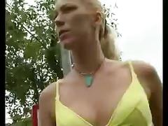 blonde, fetish, outdoor, amateur, blowjob, smoking, homemade