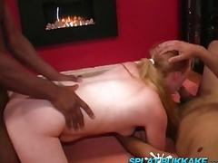 British gangbang and bukkake party with maisie dee and summer
