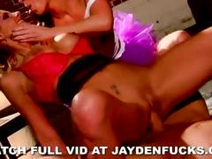 Jayden and phoenix fuck the cock
