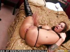 Big tit amateur pornstar squirts & gets pounded in all her holes.