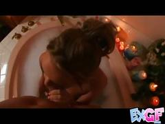 Romantic bathtube sex.p2