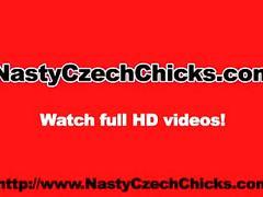 masturbation, pornstar, euro, brunette, babe, toys, nastyczechchicks.com, big-tits, dildo, booty, european, heels, vibrator, public
