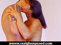 Horny girlfriend's sex tape stolen