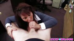 Lovely milf babe wanted some quick cash