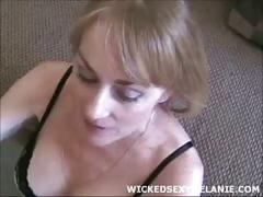orgy, amateur, milf, blonde, handjob, wickedsexymelanie.com, double-blowjob, group-sex, cumshot, facial, homemade