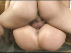 blowjob, brunette, hardcore, pussy, female friendly, black hair, cumshot, cunnilingus, doggy style, missionary, oral, reverse cowgirl, shaved pussy, sloppy blowjob