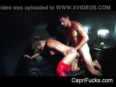 Capri cavanni stripper fuck