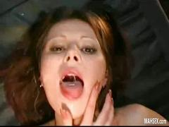 swallowing, group, cumswap, facial, cumshot, humiliation, bukkake, pain, insertion, object, gangbang, cum
