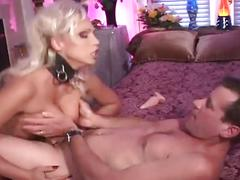 Blonde bitch drilled in hardcore anal fuck