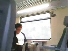 Train masturbation 4