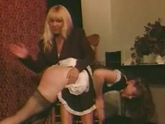 Chloe nicole- maid for spanking