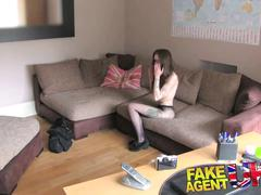 Fakeagentuk london escort does massive fanny farts