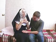 euro, threesome, uniforms, nun, russian, fmm, 3some, milf, skinny, costume, cougar, pussy-licking, small-ass, blow-job, doggy, riding, trimmed, glazed