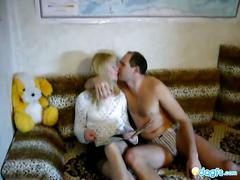 Bodacious blonde gf exposed sex tape