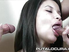 Puta locura beautiful asian amateur bukkake
