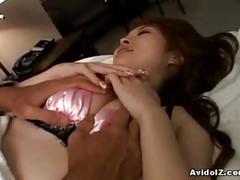 Lovely japanese slut gets pussy abused in hotel