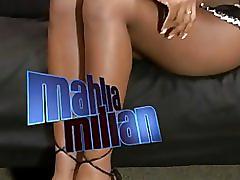Mahlia follando.