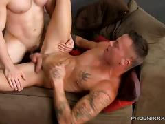 Muscled anal fuckers angel and sean