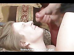 All amateur girl facials