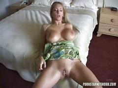 Horny slut with big-tits loves anal!