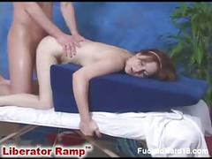 Barely legal massage