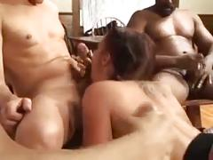 blowjob, bukkake, pornstar, interracial, babes, blow-job, gang-bang, group-sex, deepthroat, fishnet