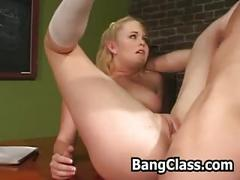 blonde, reality, teen, blowjob, bangclass.com, hadrcore, pussy-licking, gag, student