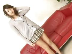 Japanese hottie fun with toys
