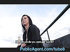 Publicagent emma loved my cock so much, she demanded to be fucked