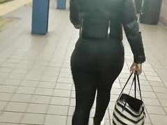 Ebony slim donk booty