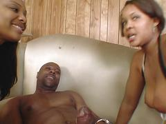 Deep throatin black freaks lexi cruz & candice jackson