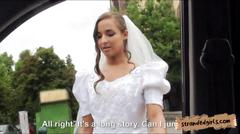 Amirah adara fucked in public in her bridal gown