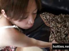 Asian girl get fucked