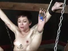 hardcore, severe, mei, asian, bastinado, slavegirl, pain, bondage, caning, foot