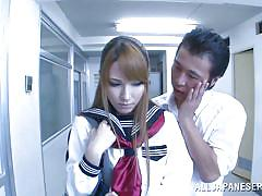 Asian teen seduced at school