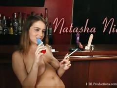 Natasha nice - smoking fetish at dragginladies