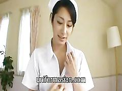 Beautiful japanese nurse uniform sex