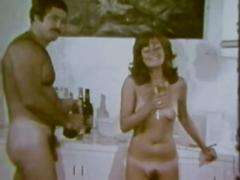 Vintage: classic hippies in group orgy