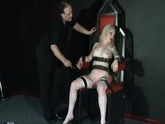 amateur, slave, girl, angel, strapped, throne, and, tormented, mercilessly