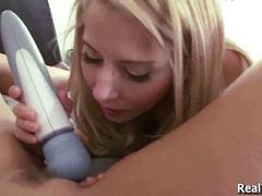 Horny teen bffs lez out for boyfriend