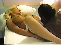 Mature blond & bbc