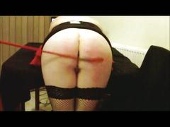 Tied whipped and spanked
