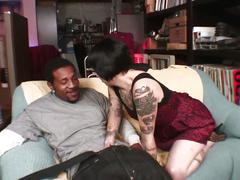 Alt babe daisy sparks fucked by big black cock