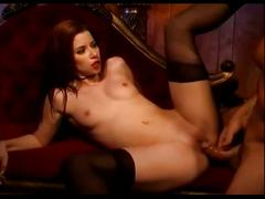 Sarah blake has sex in black stockings