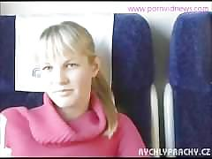 Fucked in the train