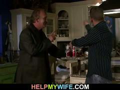 Help for geezer's horny wife
