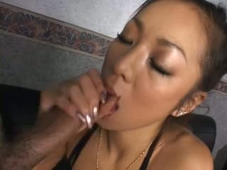 Sweet asian can blow.