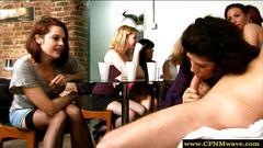 femdom, handjob, stroking, skirt, more